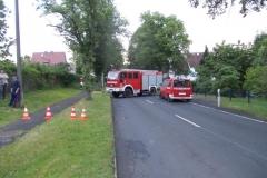 Einsatz 07.06.2017 - Straßensperrung Feuerwehr Stadtlengsfeld